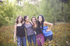 Fours Sister, Four Cousins [Canberra Family Photographer]
