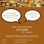 AUTUMN mini session special 2012 feature