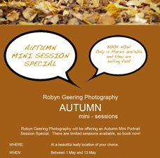 Autumn Mini Session Special