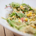 Quinoa salad feature