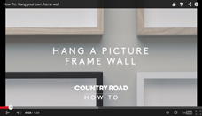 How to Hang a Picture Frame Wall [Canberra Children's Photographer]