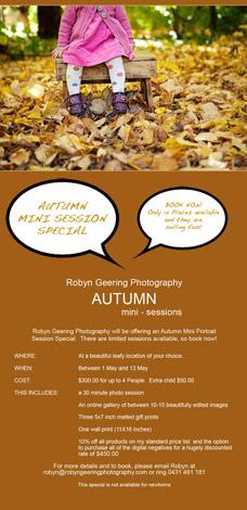 Autumn Mini Session Special